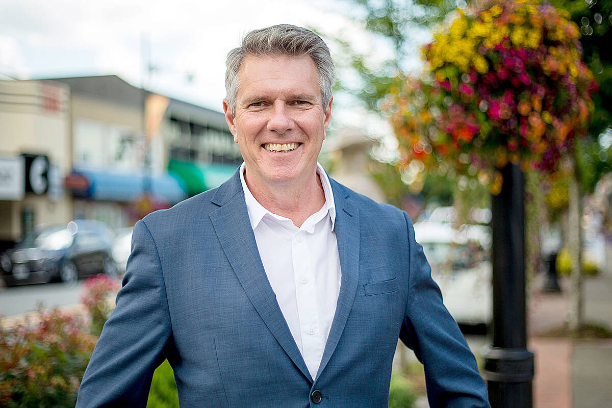 Liberal hopeful John Aldag hopes to be restored as MP in the Cloverdale-Langley City riding after being ousted in last election. (Special to Langley Advance Times)
