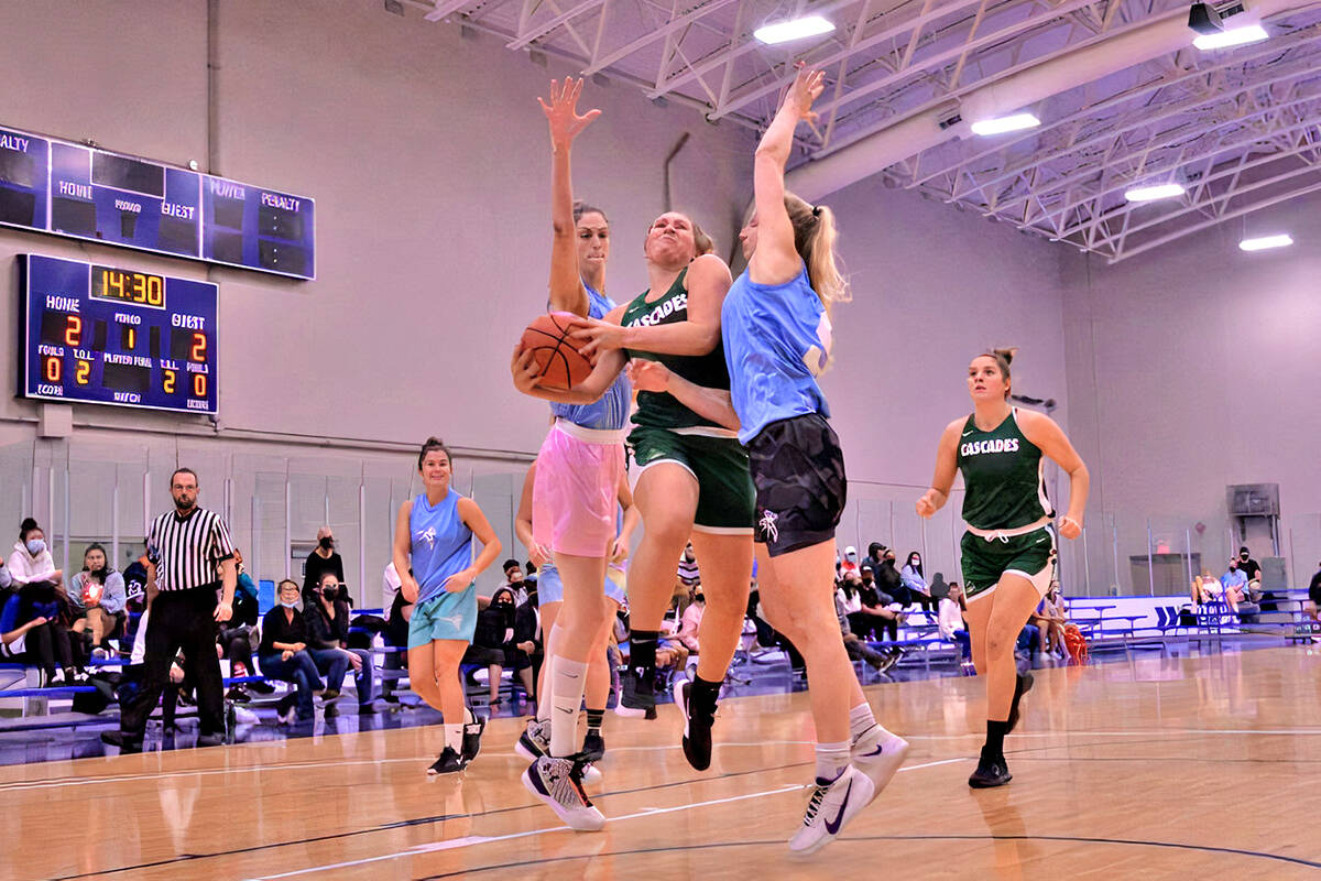 2021 edition of the BBall Nationals girls club basketball championships at Langley Events Centre took place from Sept. 9 to Sept. 11. (Gary Ahuja/Langley Events Centre)