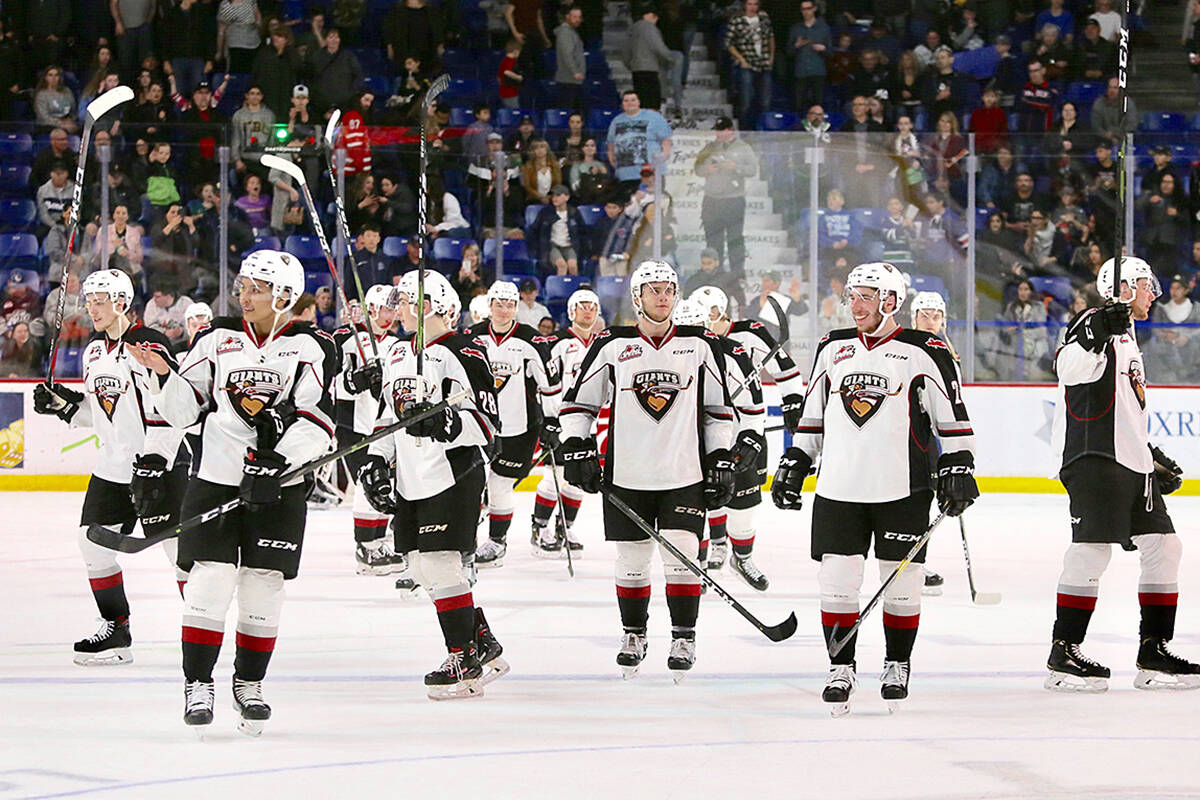 A combination of training camp injuries and NHL tryouts forced the Vancouver Giants to cancel a Sept. 15 preseason game against Kelowna due to a lack of players. (file)