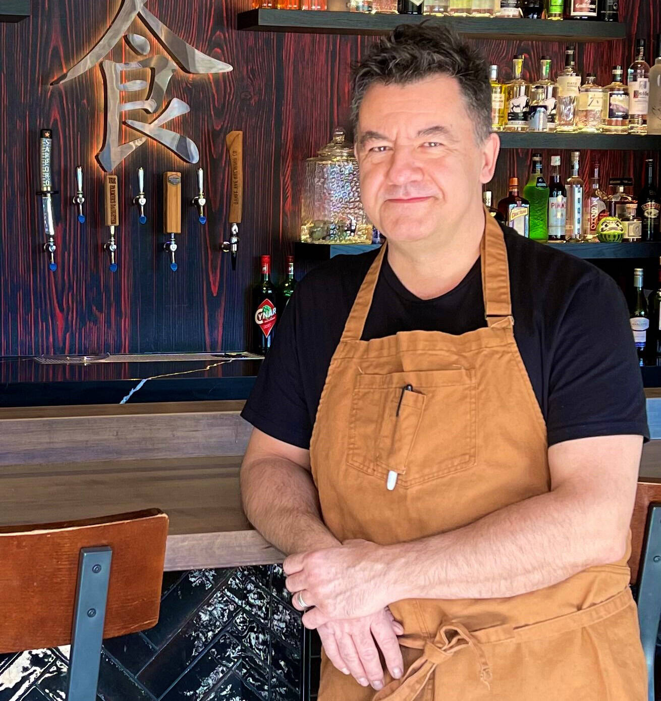 Stephane Prevost, a Banff restaurateur, poses in this handout photo. THE CANADIAN PRESS/HO
