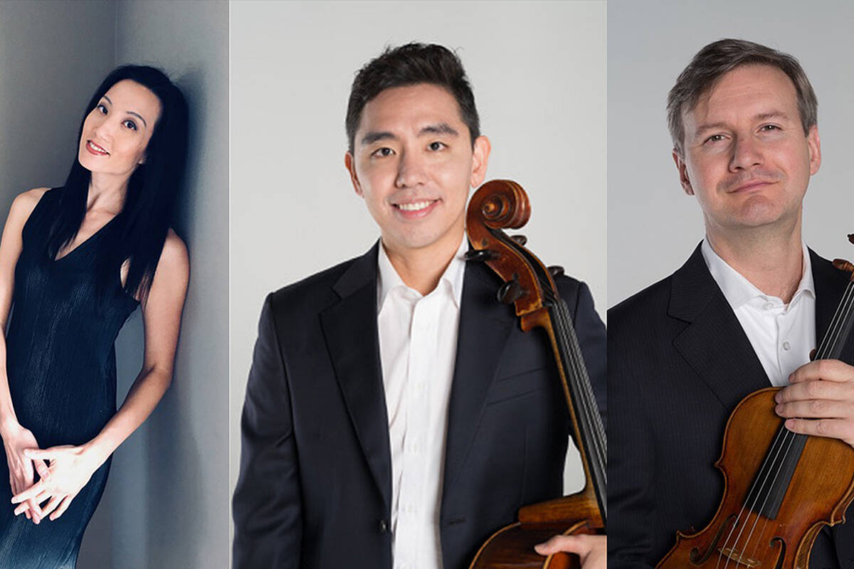 Langley Community Music School will be kicking off our Concerts Café Classico series with the Aurora Piano Trio on Sunday. (Special to Langley Advance Times)