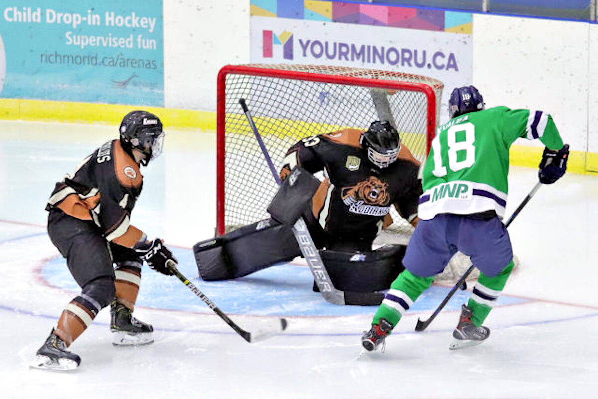 Aldergrove Kodiaks first regular season game on Wednesday, Sept. 8 marked a return to the ice after a frustrating 2020-21 season that ended prematurely. (file)