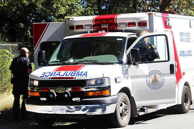 """The province is embarking on what it calls """"the largest hiring push in B.C.'s history"""" for paramedics in rural and remote locations. (File - Black Press Media)"""