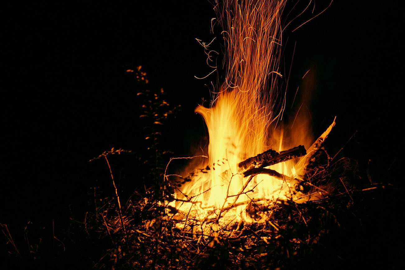 Starting Sept. 16 at noon, the burning of campfires, Category 2 and 3 open fires, and Resource Management Burning will be allowed throughout the Coastal Fire Region, in areas without local restrictions. File photo.