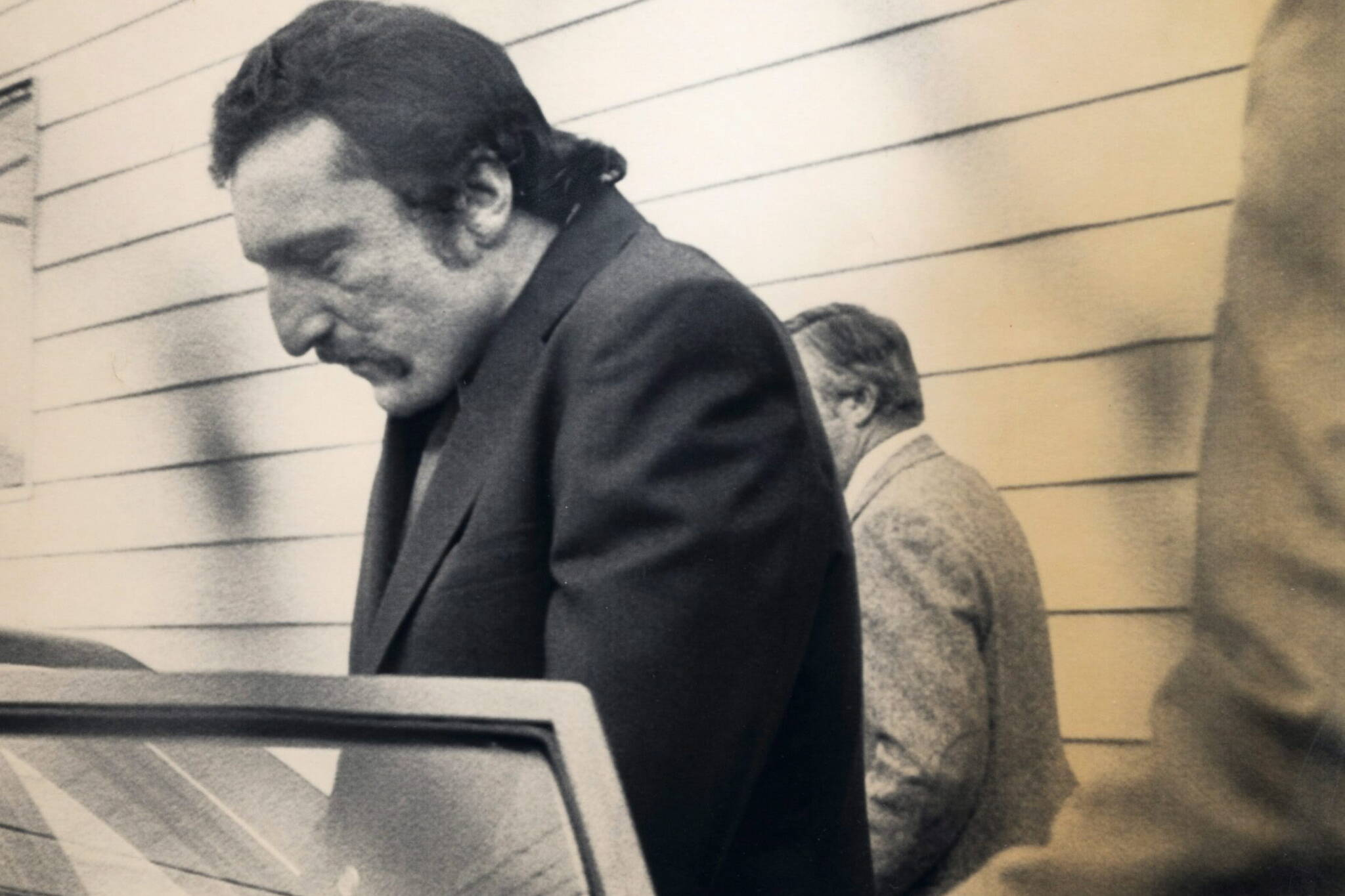 FILE - David Shearing, pictured in this 1983 file photo. David Ennis (formerly David Shearing) convicted of killing three generations of a BC family in a mass murder faces his first parole hearing Wednesday Oct. 22, 2008. Ennis was convicted in the deaths of six members of the Bentley- Johnson family while they were camping in Wells Gray Park, in the BC Interior, in 1982. THE CANADIAN PRESS/ files