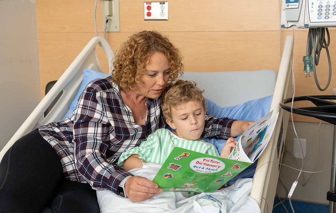 The Langley Memorial Hospital Foundation makes it easy to support close-to-home pediatric care.