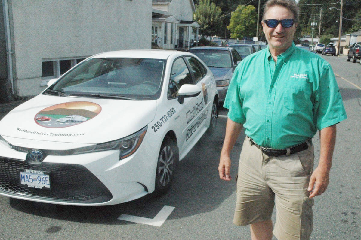 Mark Anderson, owner of West Coast Driver Training, is planning on defying the rules that prevent him from installing dash cams in his company cars. (Robert Barron/Citizen)