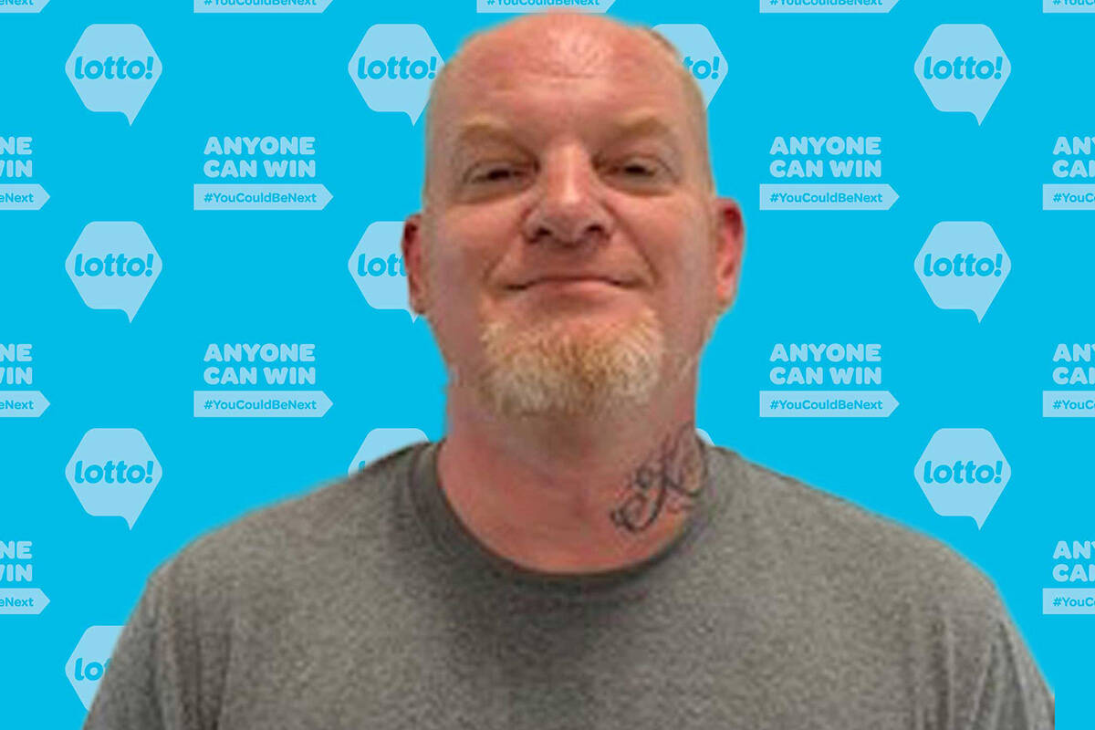 Lincoln Hankey from Langley won $111,722 from the Aug. 6, 2021 Lotto Max draw. (BCLC)