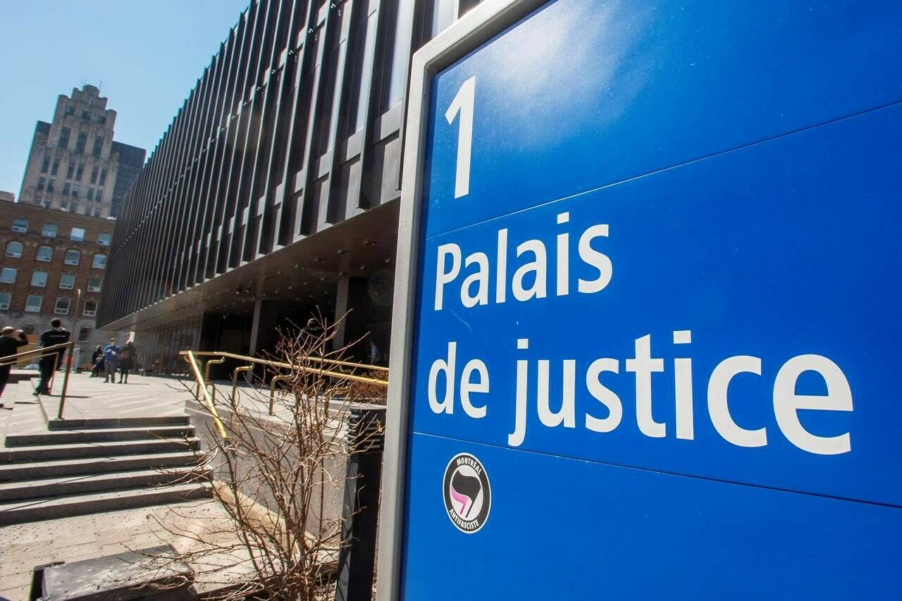 The Quebec Superior Court is seen in Montreal, Wednesday, March 27, 2019. A Quebec Superior Court judge has ruled a juror doesn't need to be fully vaccinated to participate in a Montreal fraud trial. THE CANADIAN PRESS/Ryan Remiorz