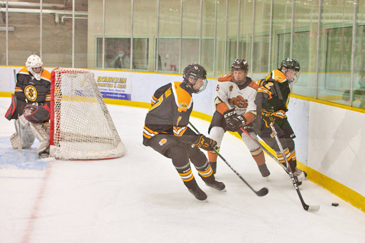 Kodiaks only allowed one goal, but that was all the Steelers needed to win a narrow victory on Sept. 15. (Kurt Langmann/special to Langley advance Times)