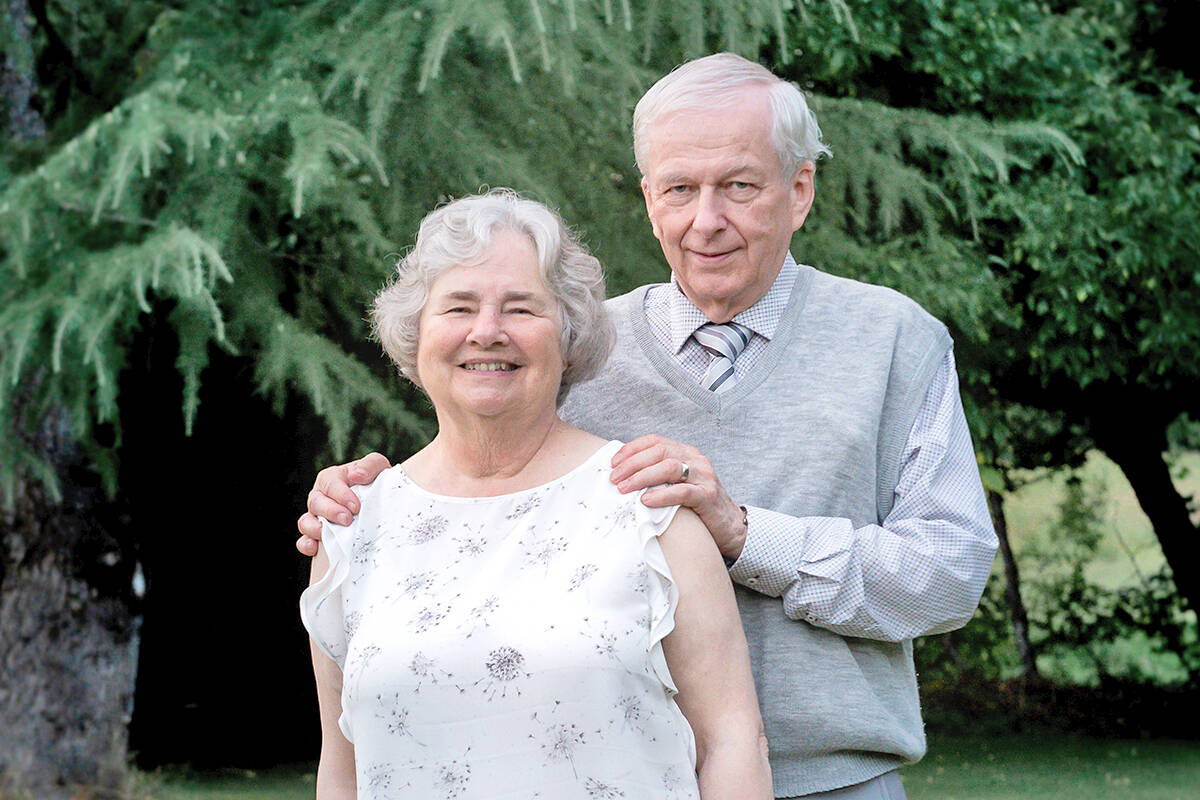 Rick and Joyce Sutcliffe had a photo take three days after her cancer diagnosis in September 2020 but shortly before they found out the cancer was terminal. She died recently. To make matters worse, their home was broken into shortly after the funeral. (Michelle Andersson/With Heart Photography)