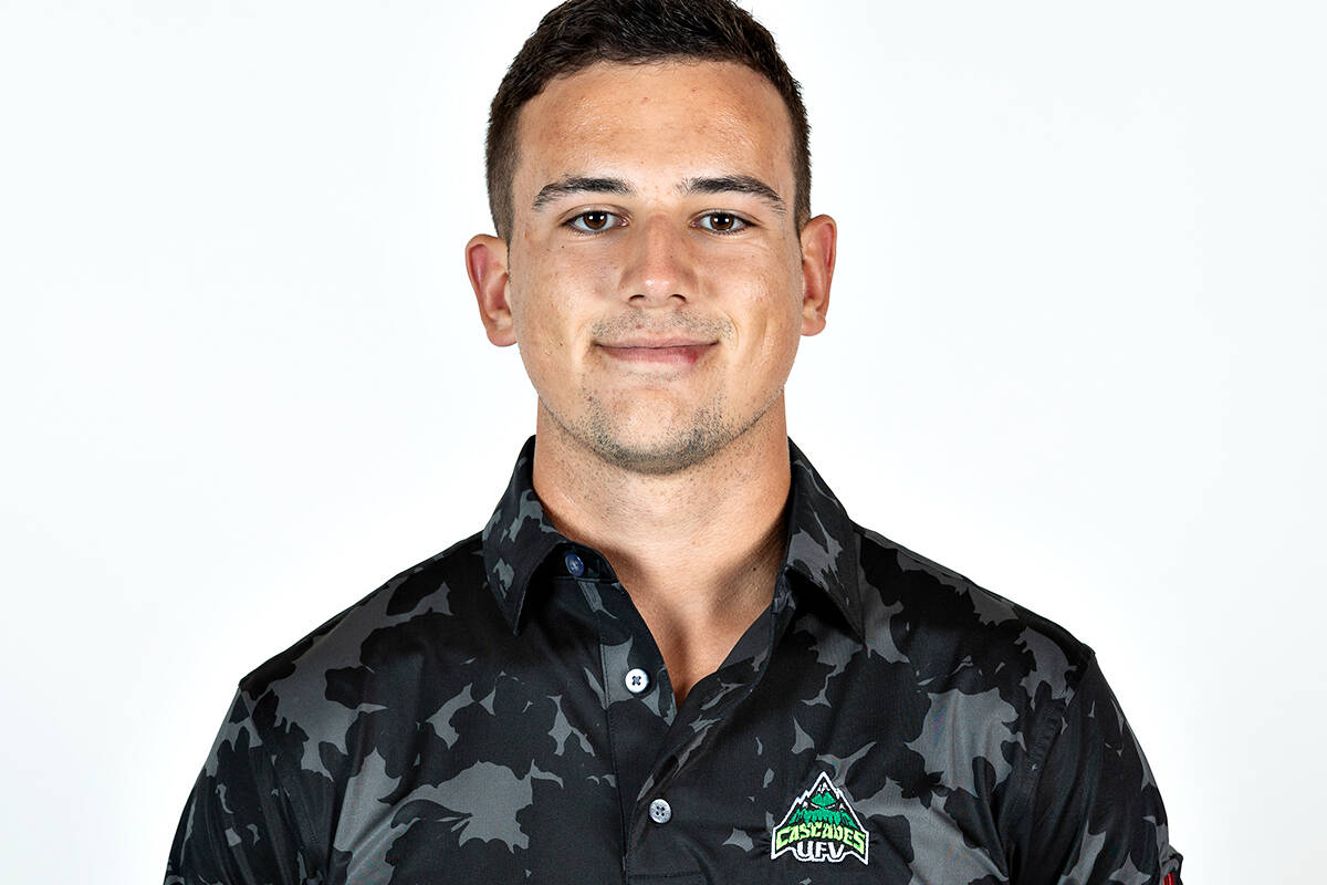 Langley's Jackson Jacob has been named the Canada West men's golf athlete of the week. (UFV)