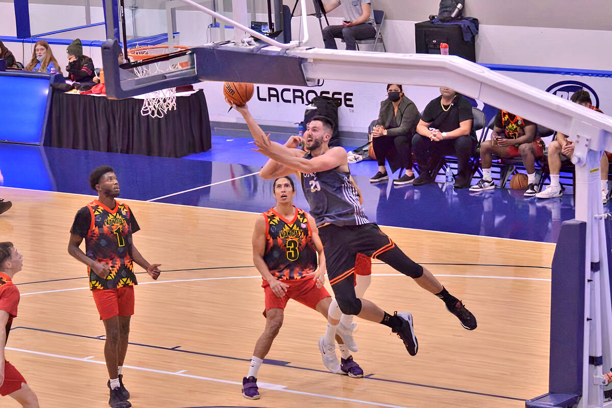 Men's competition at the BBall Nationals club basketball championships, held at Langley Events Centre Sept. 16 - 19. (Gary Ahuja/Langley Events Centre)