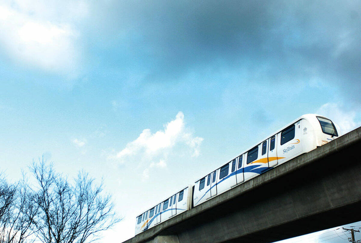 Officials are pushing back on the idea that SkyTrain to Langley was ever planned for 2028. (Black Press file photo)