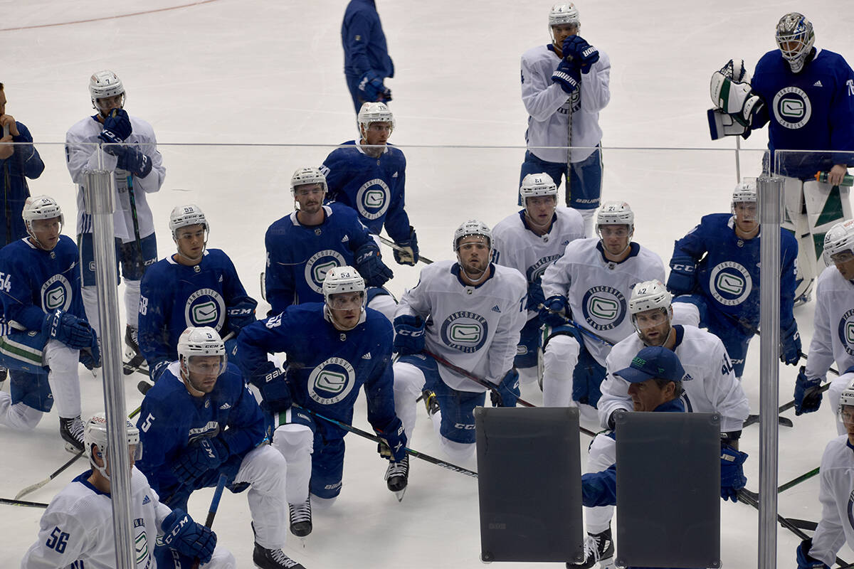 The Vancouver Canucks training camp occurs in Abbotsford from Sept. 23 to 25. (Ben Lypka/Abbotsford News)