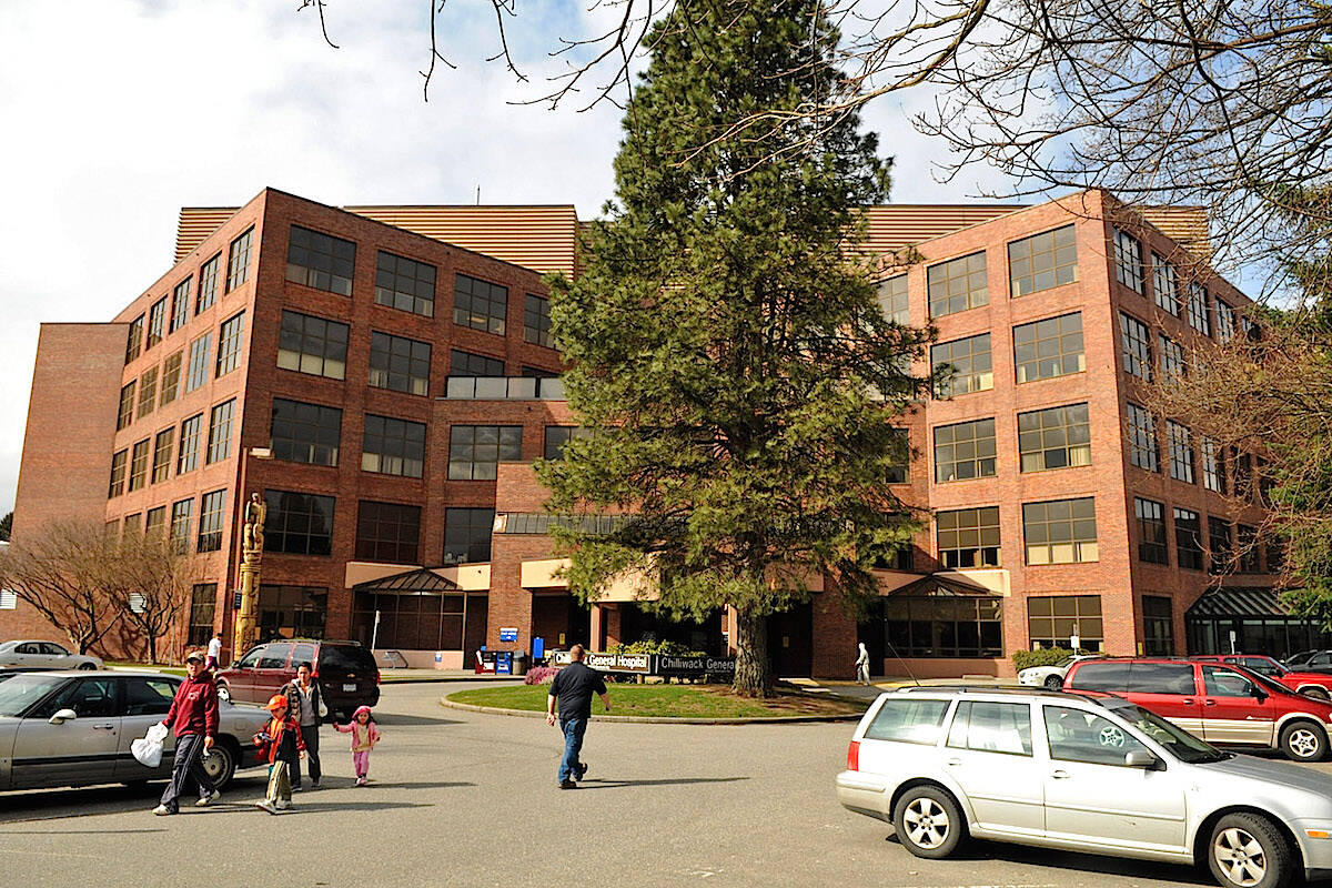 A COVID-19 outbreak has been declared over at Chilliwack General Hospital. (Jenna Hauck/ Chilliwack Progress file)