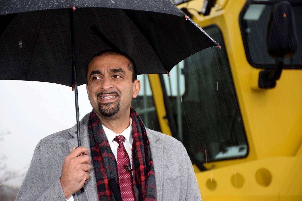 B.C. Jobs Minister Ravi Kahlon, MLA for Delta North. (James Smith/North Delta Reporter file photo)