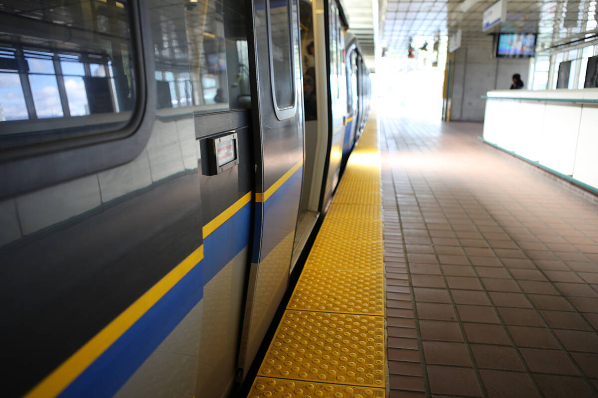 Prime Minister Justin Trudeau announced Friday, July 9, 2021, that the federal government will give $1.3 billion for the Surrey-Langley SkyTrain expansion project to get it from King George Station to Langley. (Kedo Zake/Black Press Media file photo)