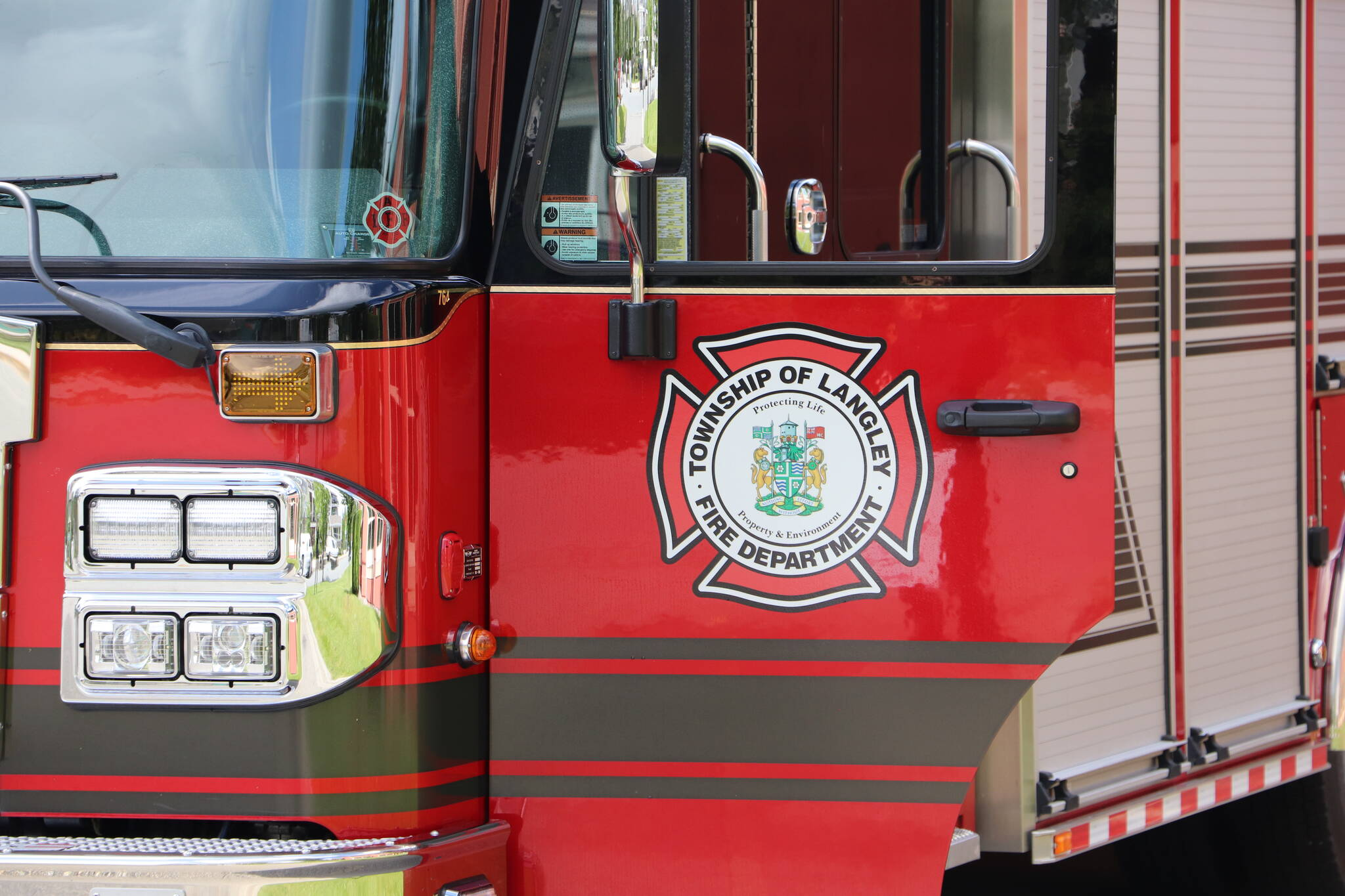Township of Langley Fire Department. (Joti Grewal/Langley Advance Times)