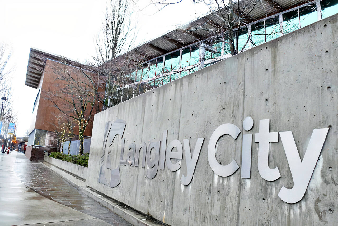 Langley City's first in-person council meeting in a year will take place this coming Monday evening, Oct. 4. at 7 p.m.(Langley Advance Times file)