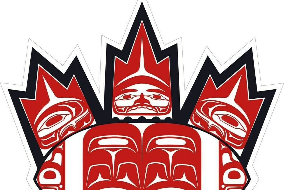 Football Canada and indigenous artist Kolten Khasalus Grant have collaborated to produce a national identity for football in indigenous communities across the country. The Indigenous Football Canada logo, shown in a handout, will be available on merchandise for Football Weekend in Canada on Oct. 15. THE CANADIAN PRESS/HO