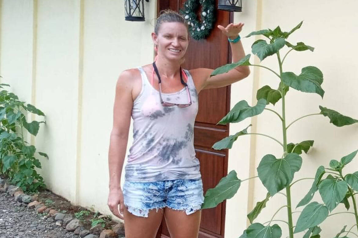 Jaclyn Ferland-Smith, formerly of Abbotsford, has been missing in Costa Rica since Aug. 17.