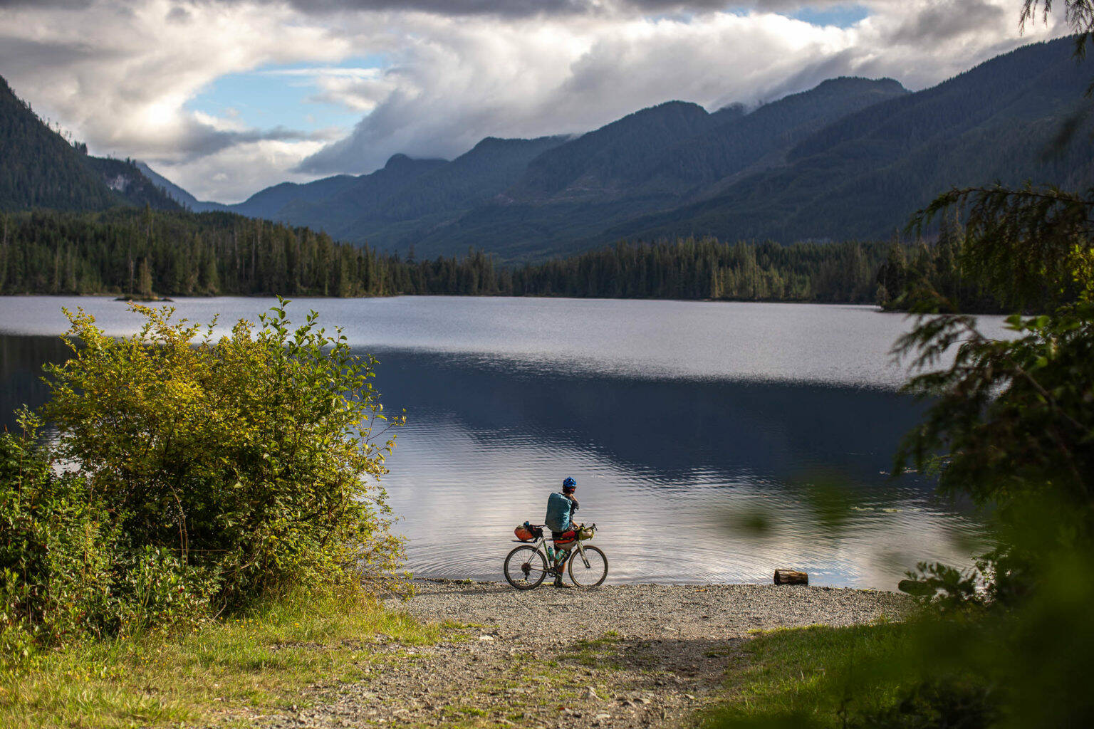 Bikepacking can get people out to some hard-to-find locations. Photo courtesy Miles Arbor