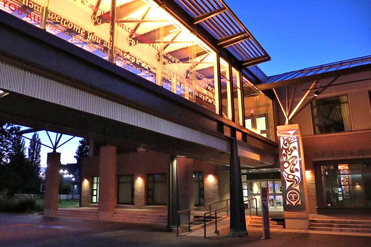 Kwantlen Polytechnic University is honouring the lost Indigenous children and survivors of residential schools by participating in Lighting the Country Orange from Sept. 27 to Oct. 1.(KPU/Special to Langley Advance Times)