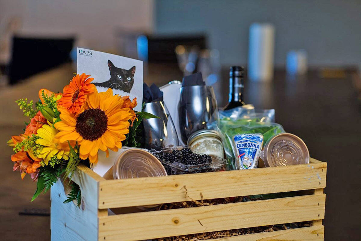 LAPS has a virtual gala Oct. 23 with boxes of gourmet goodies delivered to ticketholders. (LAPS/Special to Black Press Media)