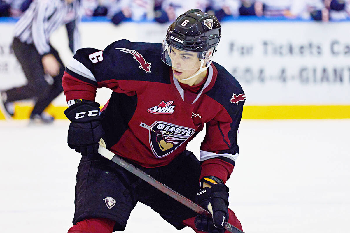 Marko Stacha is being traded from the Vancouver Giants to the Kamloops Blaziers. (Photo Rob Wilton)