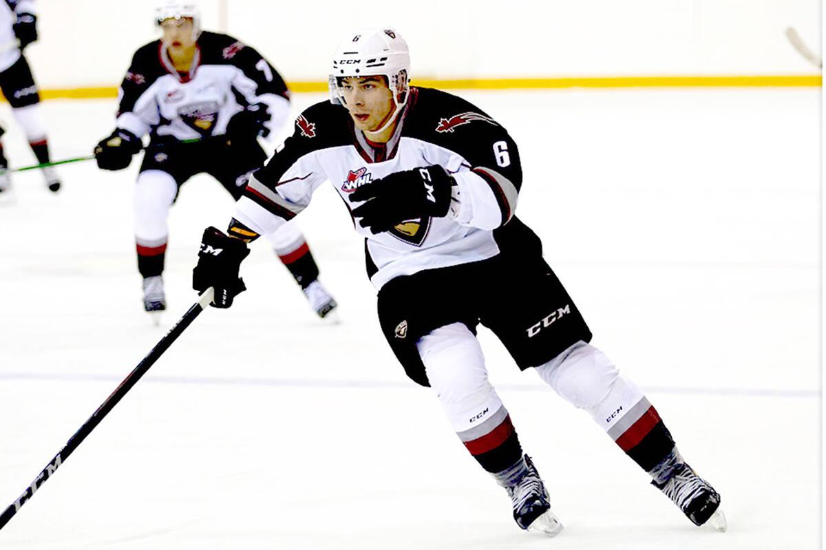 Marko Stacha has been traded to the Kamloops Blazers. (Allen Douglas/Rob Wilton/Vancouver Giants)