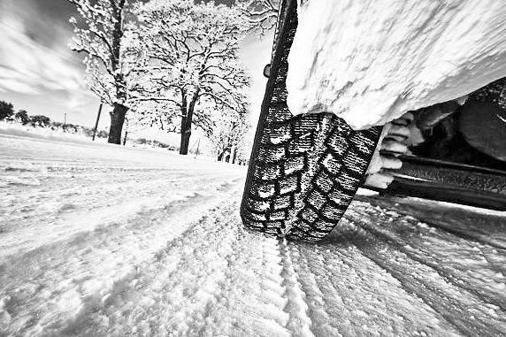 Winter tire on a car. (Black Press file photo)