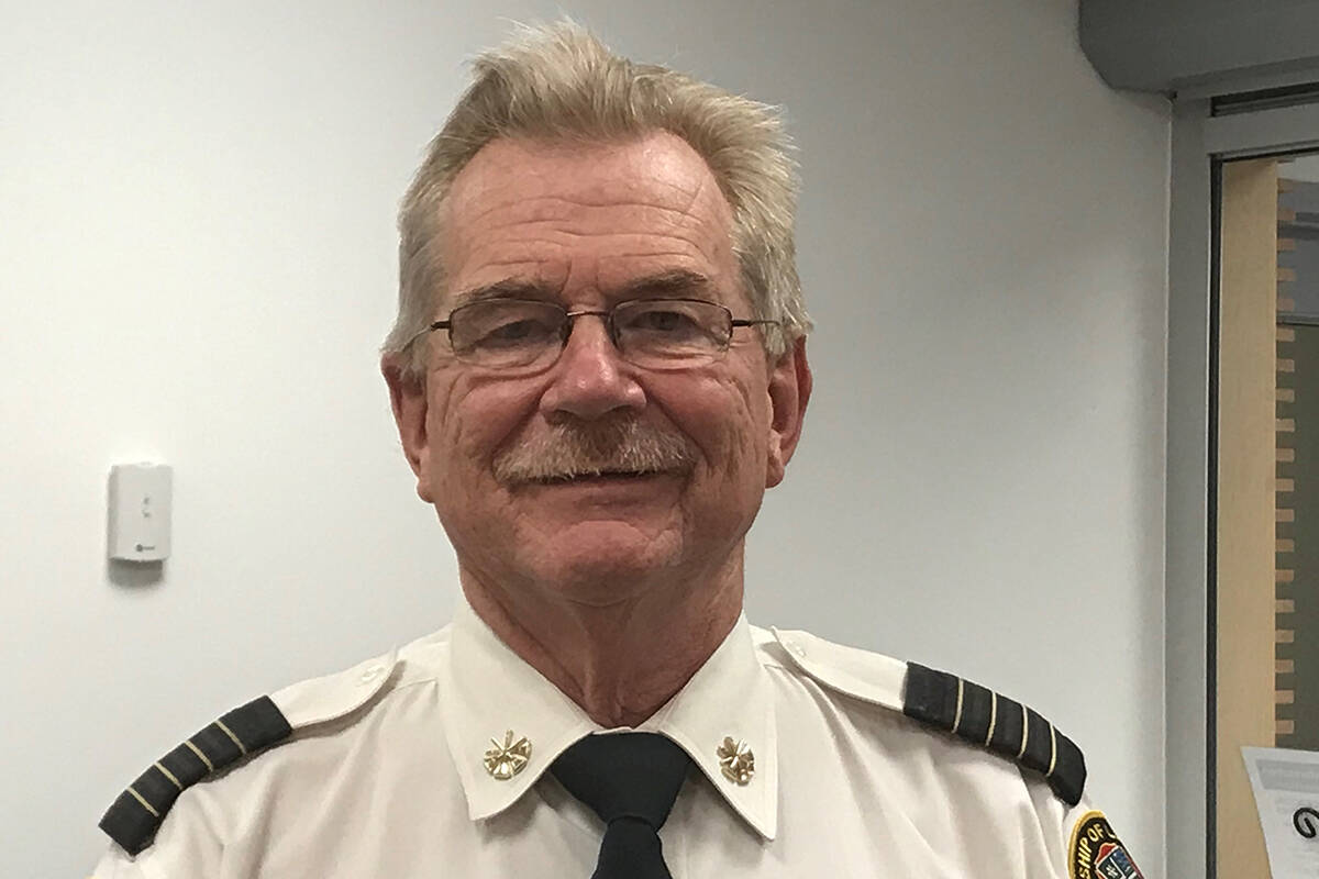 During Fire Prevention Week, Township deputy fire chief Bruce Ferguson urges people to learn about the different sounds a smoke alarm makes so they know when it's an emergency. (Bruce Ferguson/Special to The Star)