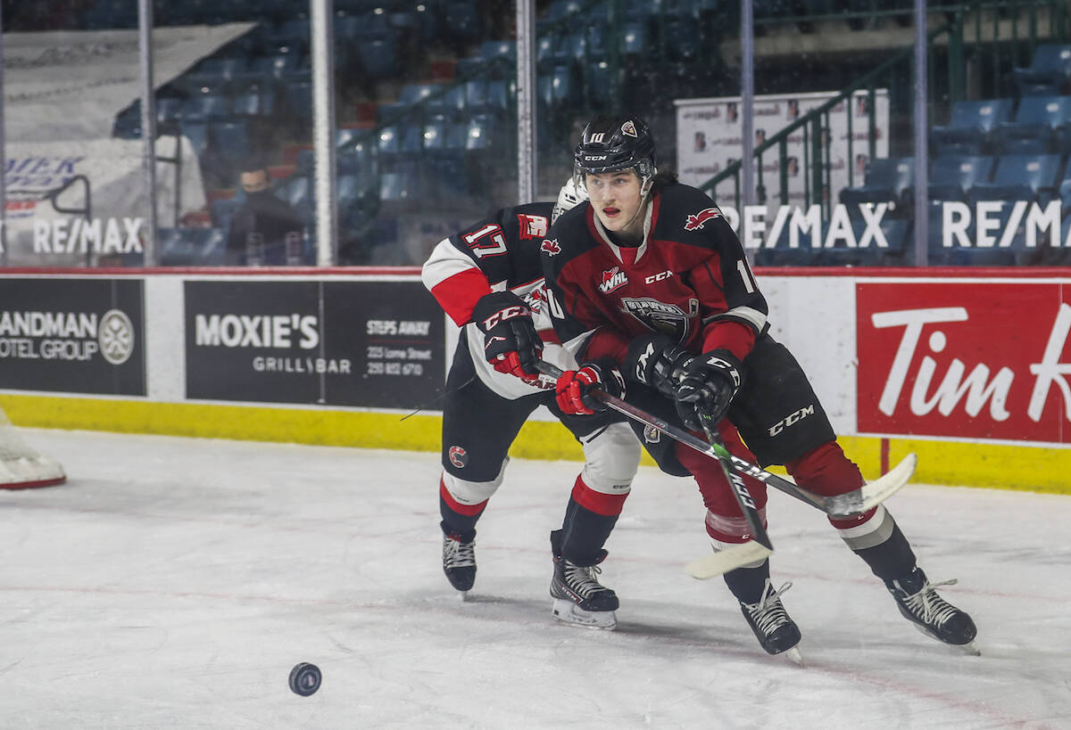 On Sunday, Oct. 3, the Ottawa Senators announced that the 2003-born forward Zack Ostapchuk has been reassigned to the Vancouver Giants. (Allen Douglas/Special to Langley advance Times)