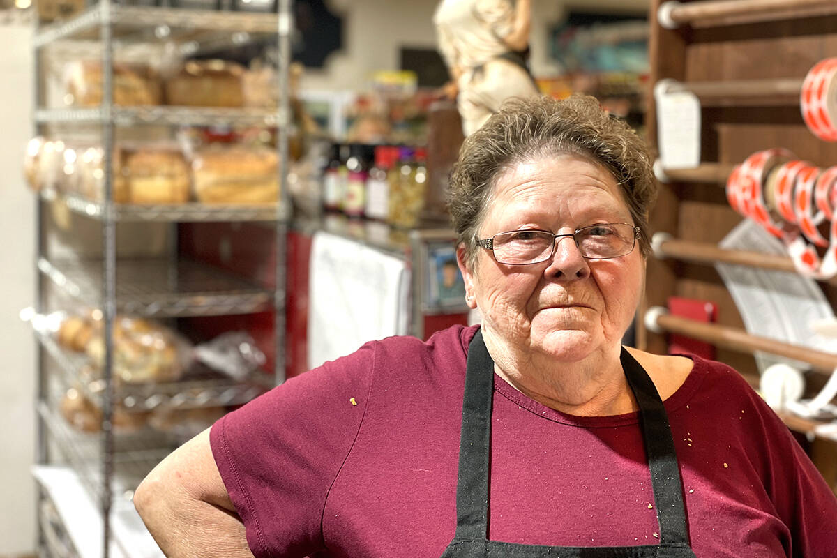 Lynda Fletcher, a nine-year employee at the market, said she 'couldn't believe it' when she got her bonus cheque. Photo: Laurie Tritschler
