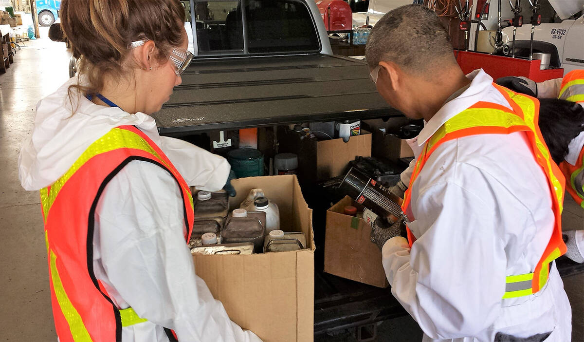 Langley residents can dispose of household hazardous waste, such as leftover paint, at the Household Hazardous Waste Event, Oct. 23 and Oct. 24 at the George Preston Recreation Centre (Township of Langley/Special to The Star)