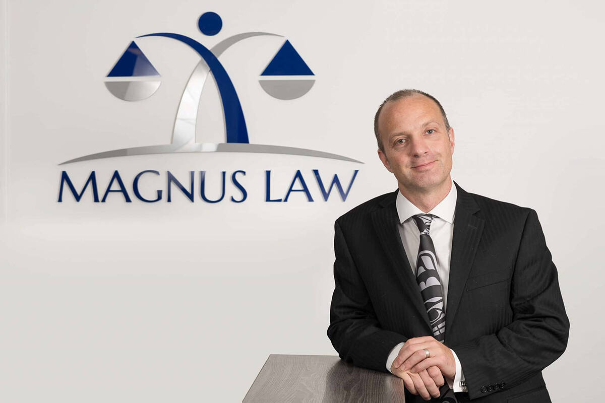 Duncan Magnus, with Magnus Law, advises the public to have conversations with family members about wills and other legal arrangements, and seek professional guidance. (Special to Langley Advance Times)