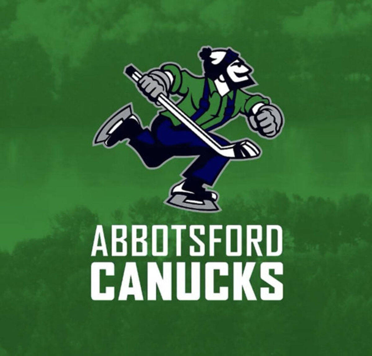 The Abbotsford Canucks had 14 players sent to them by the Vancouver Canucks on Sunday.