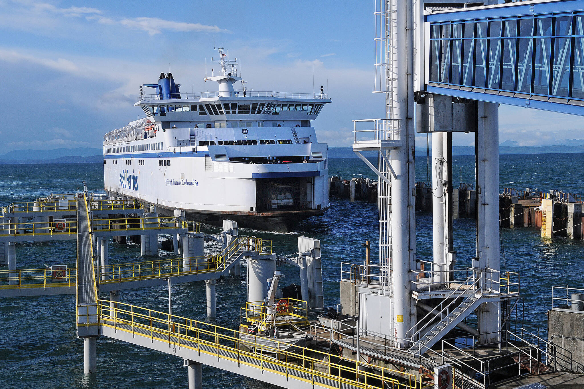 Thanksgiving sailings are expected to be busier than usual while the Spirit of Vancouver Island ferry is being repaired. (Black Press Media file photo)