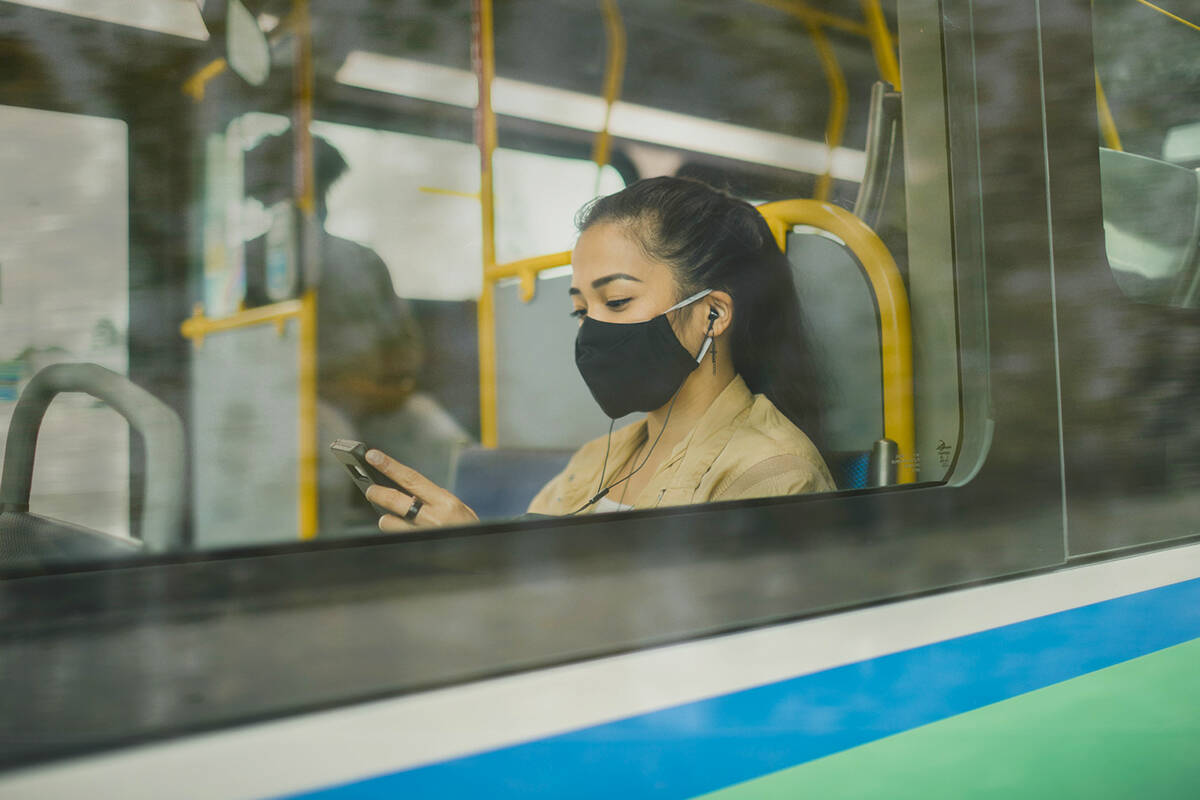 Some riders will soon have free WiFi on their transit route. (TransLink/Special to The Record)