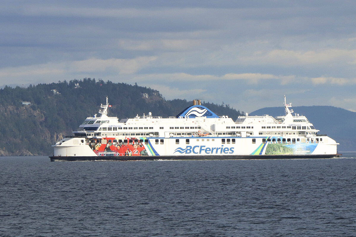 Wednesday's federal vaccine requirement announcement doesn't include BC Ferries. (Black Press Media file photo)