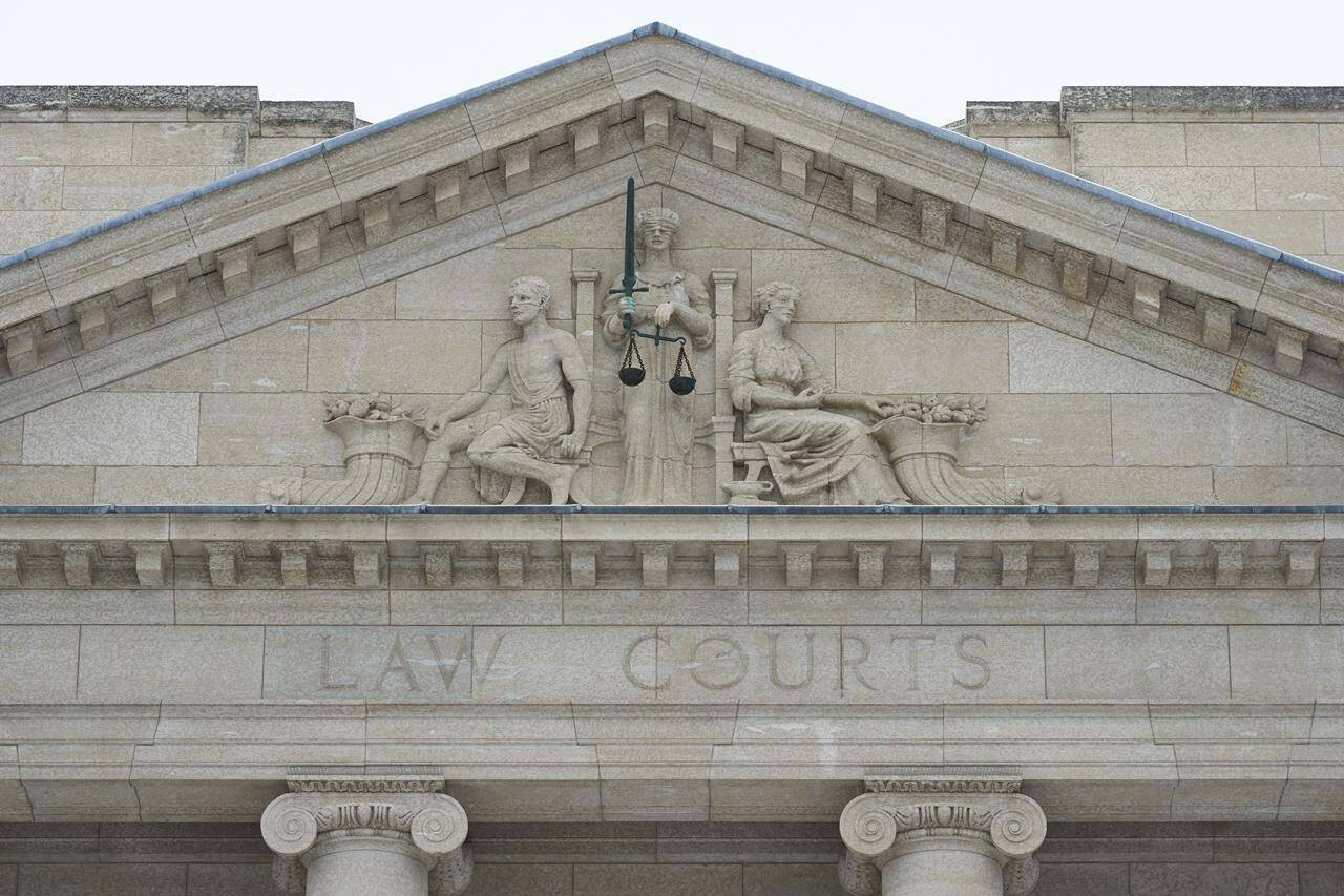 The law courts are shown in Winnipeg on Tuesday, Dec. 15, 2020. THE CANADIAN PRESS/David Lipnowski