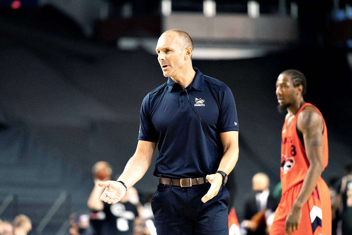 Bandits general manager Kyle Julius will return for the team's upcoming Canadian Elite Basketball League (CEBL) season at Langley Events Centre, the CEBL franchise announced Thursday, Oct. 7. (Fraser Valley Bandits (Canadian Elite Basketball League)/special to Langley Advance Times)