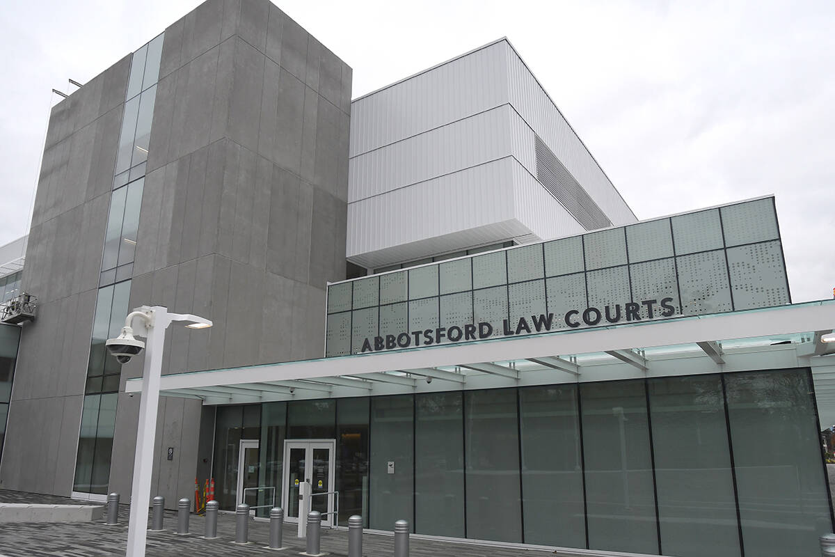 The new Abbotsford Law Courts. (John Morrow/ Abbotsford News file)