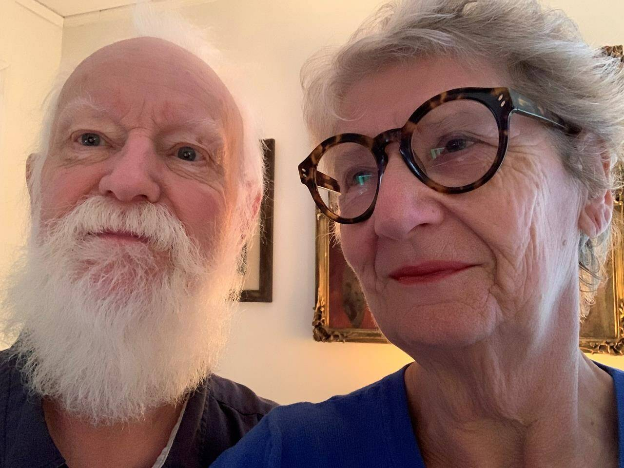 Christiane Coopman, a 73-year-old blood cancer patient in Chilliwack, B.C., and her husband Murry who suffers from melanoma, both received booster doses of the COVID-19 vaccine two weeks ago. HO-Cristiane Coopman / THE CANADIAN PRESS
