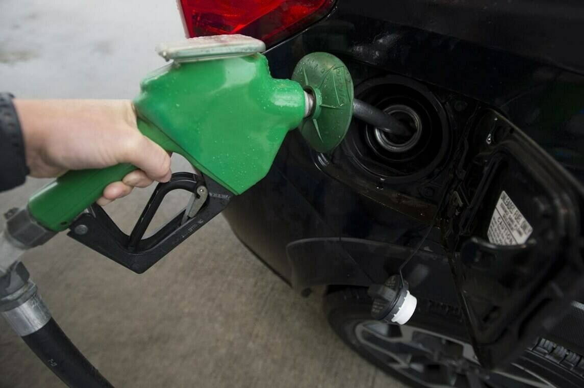 A car is fuelled up at a gas station in Vancouver, Wednesday, July 17, 2019. THE CANADIAN PRESS/Jonathan Hayward