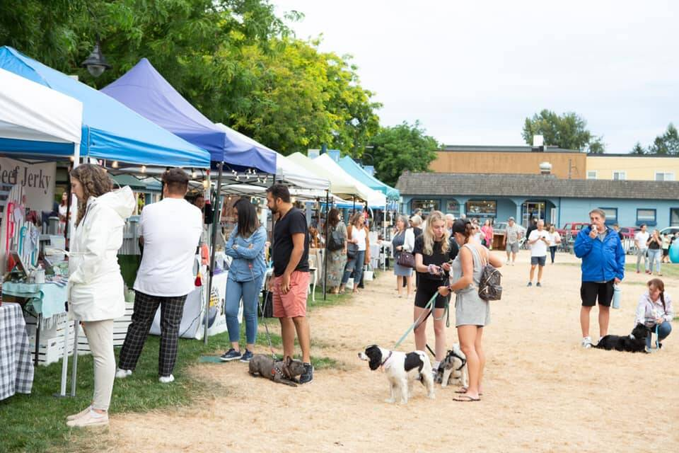 Fort Langley Night Market is happening from 5 to 10 p.m Friday, Oct.8. (Fort Langley Project/Facebook)