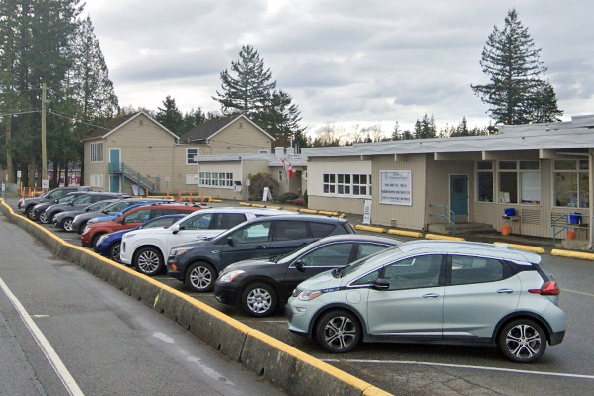 Undated Google Maps image of Glenwood School in Langley, which reported the most COVID exposures of any Langley school over a two-week period, according to the Fraser Health Authority. (Google)