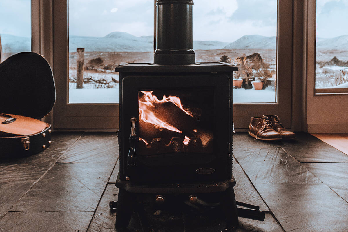 The Wood Stove Exchange Program helps people replace old smoky woodstoves. (Stock photo)