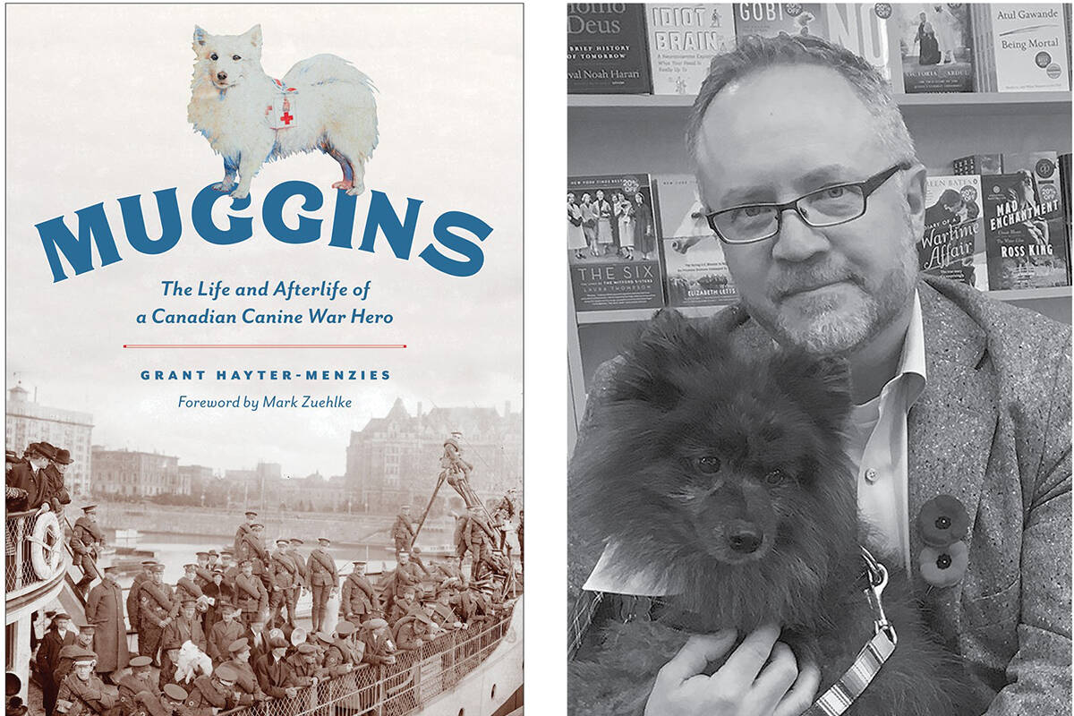 In his new book, Sidney author Grant Hayter-Menzies explores the life of local historical celebrity Muggins. (Courtesy Heritage House)